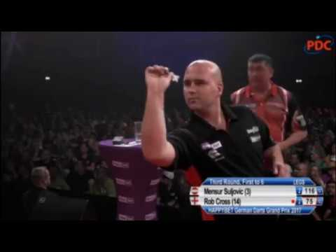 2017 German Darts Grand Prix Round 3 Suljovic vs Cross