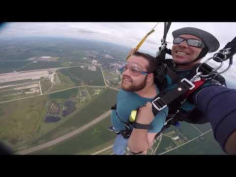 1239 Dalton Swift Skydive at Chicagoland Skydiving Center 0813 Brad Brad