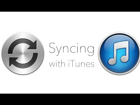 Syncing With iTunes
