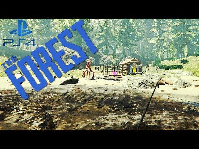 The Forest Ps4 German Fallen bauen #10