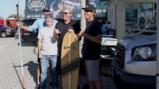 Hamboards Visits The Surf Station!
