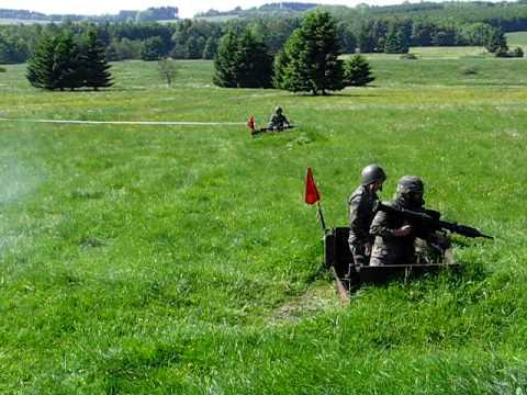 Schießen bei der Bundeswehr mit der Panzerfaust