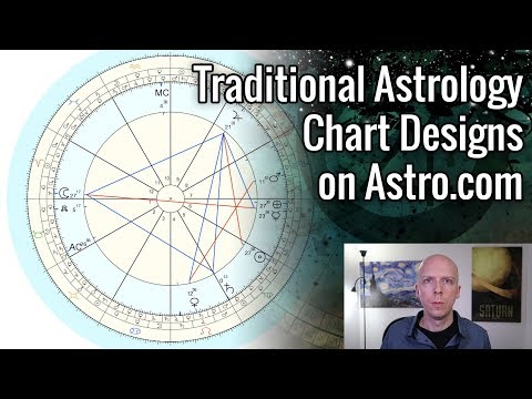 Traditional Astrology Chart Designs on Astro.com