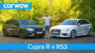 Audi RS3 vs SEAT Leon Cupra R - see if the Audi is really worth £9,000 more!