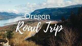 Oregon Road Trip Travel Vlog thumbnail