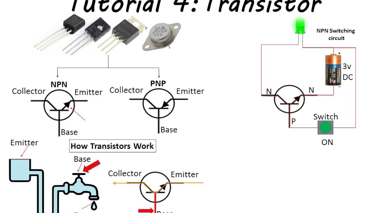 transistor  tutorial 4