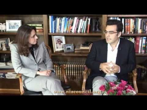Maziar Bahari Interview with NIAC (Persian)