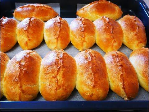 МЯГКИЕ ПЫШНЫЕ ВКУСНЫЕ пирожки в духовке ПИРОЖКИ на КЕФИРЕ Тесто на ПИРОЖКИ Выпечка на кефире