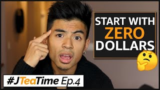 Start Selling on Amazon FBA With NO MONEY?!? #JTeaTime Ep.4 [LIVE]