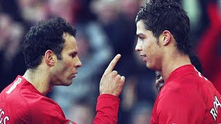 The day Ryan Giggs pinned Cristiano Ronaldo to a wall | Oh My Goal