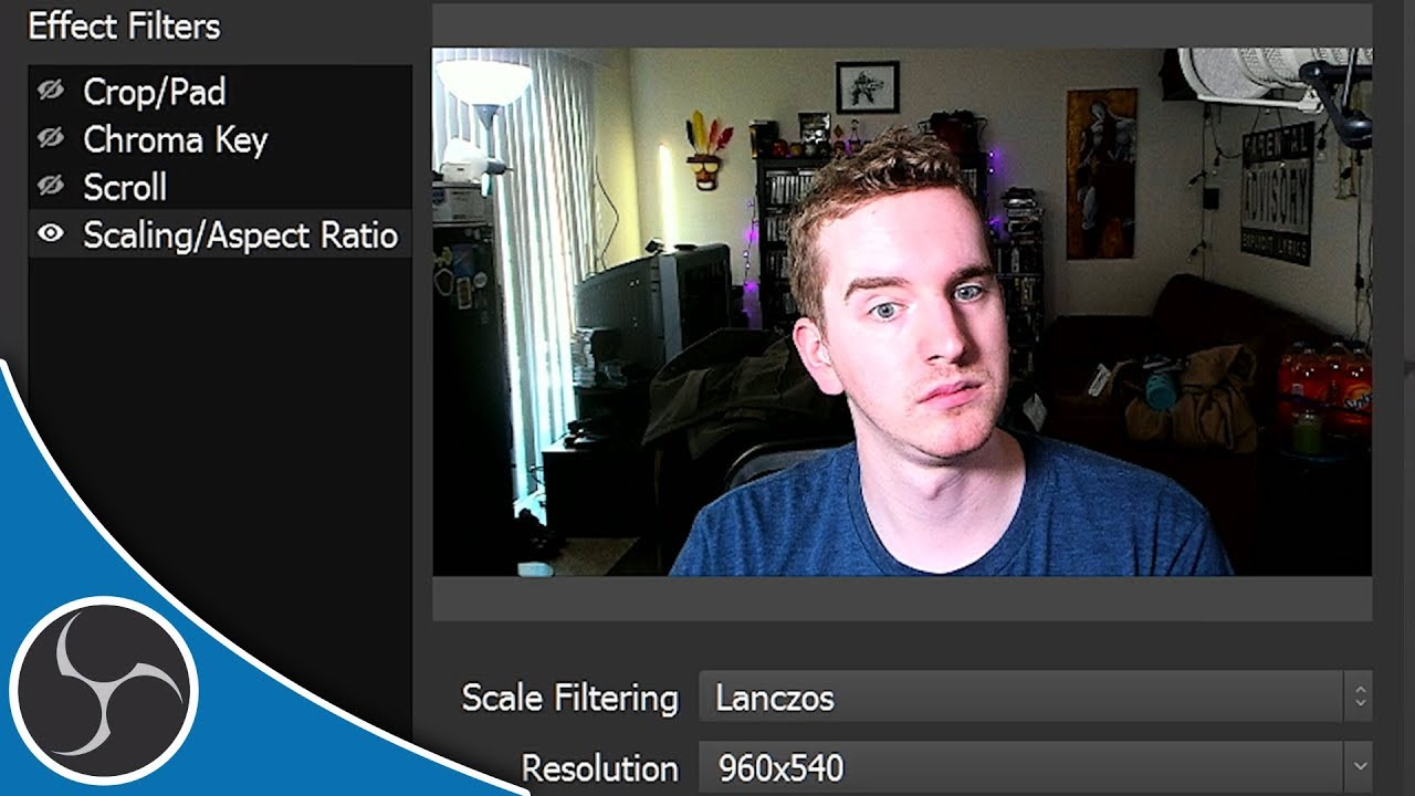 OBS Studio 141 - Video Filters Walkthrough - How to use video filters (OBS  Studio Tutorial)