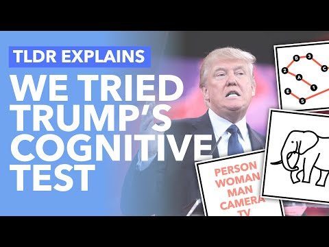 We Took Trump's Cognitive Test: Is It Important & What Does it Show? - TLDR News