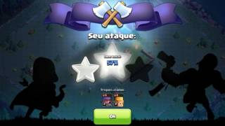 Clash of Clans :Ataquei o layout mais estranho de sempre #2