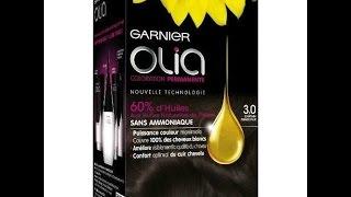 video test: coloration olia garnier