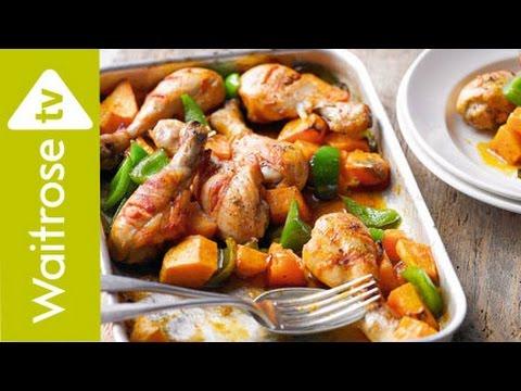 Peri Peri Chicken With Sweet Potatoes | Waitrose