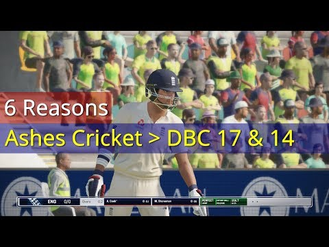 6 REASONS WHY ASHES CRICKET IS BETTER THAN DON BRADMAN CRICKET 14 AND 17 | ASHES CRICKET REVIEW