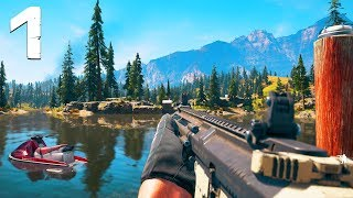 Far Cry 5 Gameplay Walkthrough - Part 1 - HOW IT BEGINS..! (PS4 Pro)
