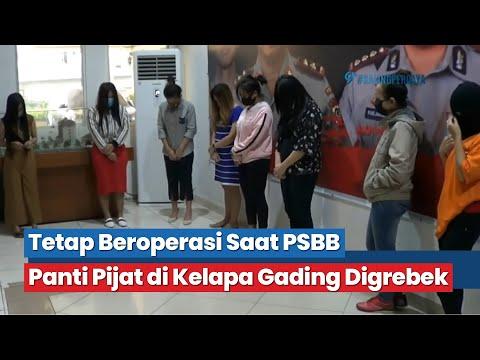 Tetap Beroperasi Saat PSBB, Panti Pijat Di Kelapa Gading Digrebek