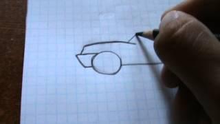 Как нарисовать машину часть 1(, 2013-07-16T05:31:34.000Z)