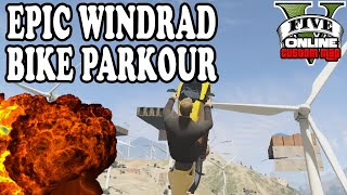 EPIC WINDRAD BIKE PARKOUR ★ GTA 5 Custom Maps ☆ GTA ONLINE | LPmitKev(EPIC GTA WINDRAD BIKE PARKOUR - Viel Spaß! Dner: http://goo.gl/asFEjT | Lusors: http://goo.gl/CGllOv Mehr verrückte Stunts gibt es hier: http://goo.gl/kb3ubI ..., 2016-08-26T12:00:00.000Z)