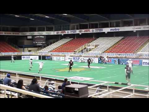 Lewisville Savage vs East TX Timber Rattlers 2016 Indoor Football