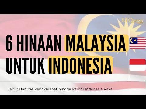 6 Hinaan Malaysia untuk Indonesia, Sebut Habibie Pengkhianat hingga Parodi Indonesia Raya