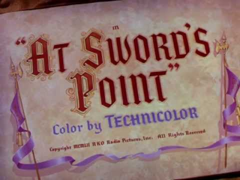 At Swords Point (1952) title sequence