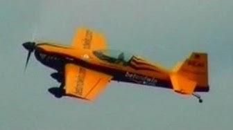 EXTRA 300 Awesome Aerobatics with German Freestyle World Aerobatic Champion Klaus Schrodt