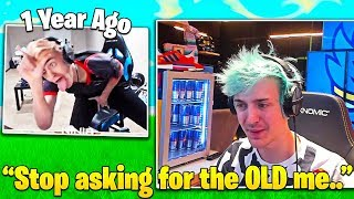 "Ninja's Emotional Message To Fans Who Want ""Old Ninja"" Back... - Fortnite FUNNY Moments"
