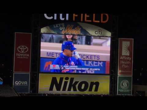 New York Mets Batting #2 (With Walk Up Songs) 4/23/17 [60fps]