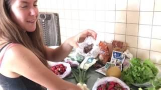 25 Dollar Airbnb Apartment Tour in Kotor, Montenegro + Healthy Vegan Food Haul