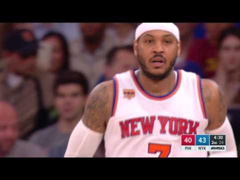Philadelphia 76ers at New York Knicks - April 12, 2017