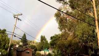 Brightest, fullest, and most complete rainbow I have ever seen in my life Thumbnail
