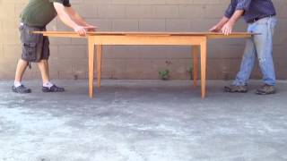 Randall Wilson And Sons Draw Leaf Table