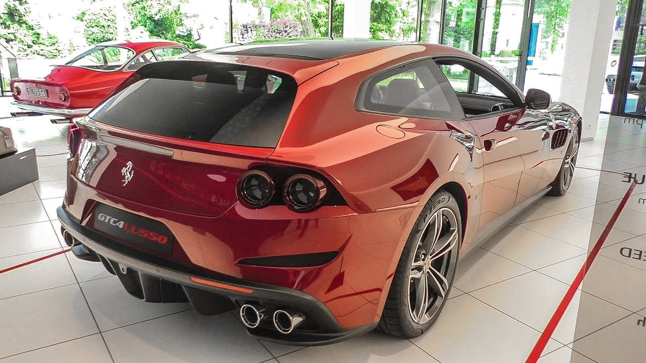 FIRST Ferrari GTC4Lusso In The Netherlands