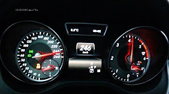 Mercedes CLA 220 CDI 2014 - acceleration 0-220 km/h, top speed test and more