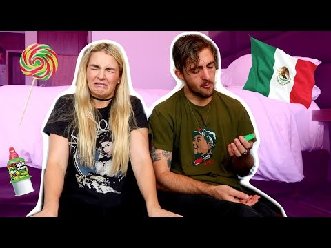 Mexican Candy Challenge with ROCKY   Rydel Lynch