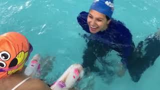 إيش صار للارا في المسبح!! - نادي أكواتوتس