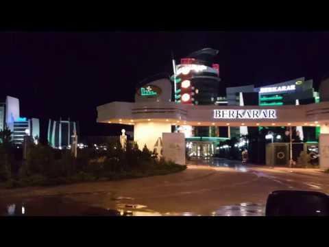 Avaza tourist city of Turkmenistan