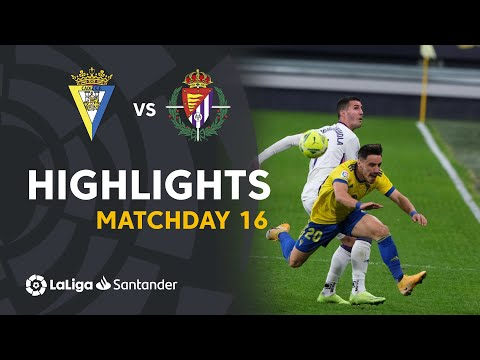 Cadiz Valladolid Goals And Highlights