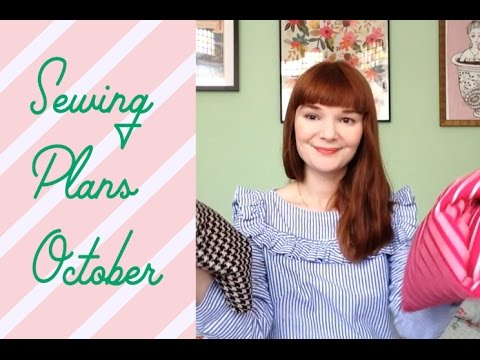 October Fabric Haul and Sewing Plans