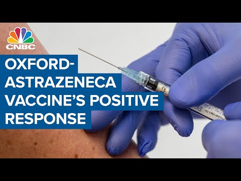 Coronavirus vaccine from Oxford and AstraZeneca shows positive ...