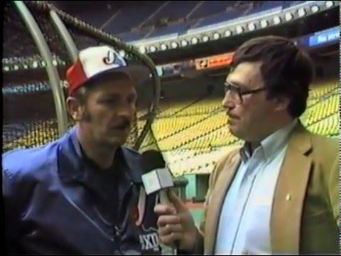 Montreal Expos Infield Coach Ron Hansen - 1985