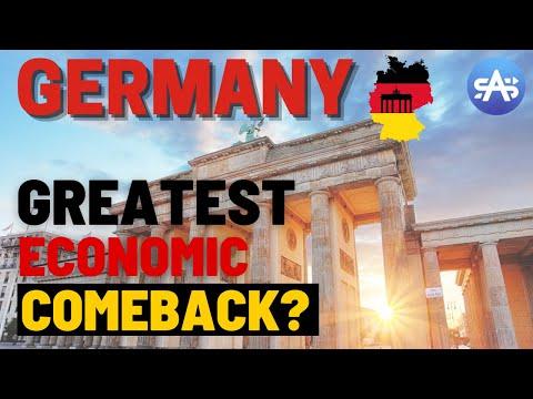 How Germany's Economy Made The Greatest Economic Comeback