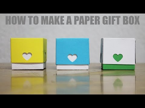 How to make a Gift Box for Boyfriend - DIY Paper Love Box