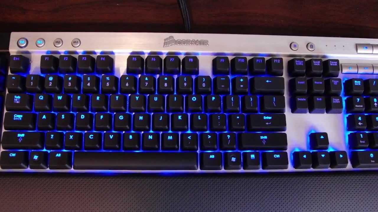 Corsair Vengeance K90 Keyboard Drivers for Mac Download