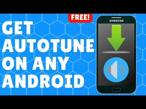 How To Get Autotune On Android! | Easy!