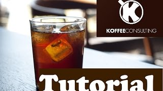 How to make a COLD BREW Coffee with an espresso roast | Koffee Consulting