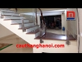 Cầu thang kính trụ hộp vuông thấp JKL ốp má thi công tại Phù cừ Hưng  Yên mp3 indir