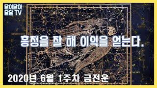 [달달TV] 주간 별자리 금전운 6월 1주차 6.01~…